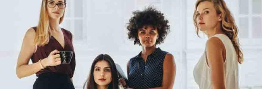 Entrepreneure au féminin